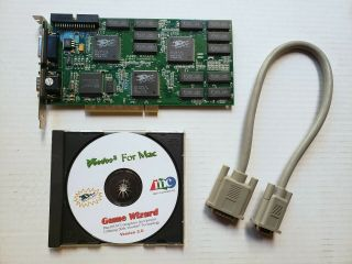 Micro Conversions Game Wizard Mac 3dfx Voodoo 2 12mb Pci Video Card - Rare