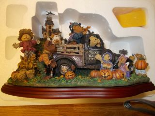 Boyd's Bears (at Haunted Hill) Hayride Large Display Rare Halloween