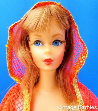 Very Rare Titian Dramatic Living Barbie Doll 1116 W/oss Minty - Vintage 1970