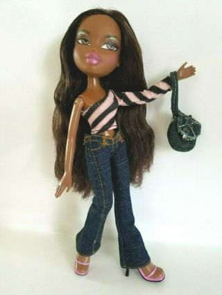 Bratz Hair Style Sasha Rare Very Hard To Find