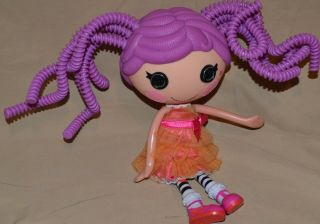 "12 "" Peanut Bigtop Lalaloopsy Doll Figure Full Size Toys Purple Silly Hair Rare"