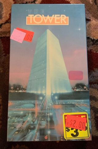The Tower Much Sought After Canadian Sci Fi Horror Weirdness Avec Vhs Rare