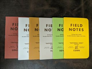 Field Notes National Crop - Books Only Rare