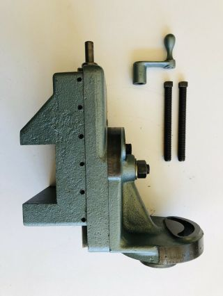 """Very Rare South Bend 13"""" Metal Lathe Milling Attachment"""