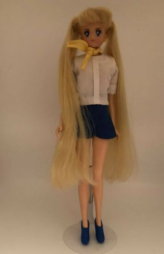 "Sailor Moon - Sailor Moon Deluxe Adventure Doll 11 1/2 "" Doll By Irwin 2000 Rare"