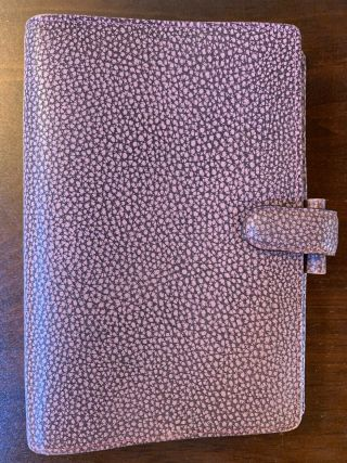 Filofax Finsbury In Antique Rose - Personal Size.  Rare Color,  Lovely