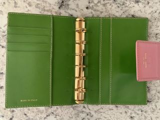 Kate Spade Rare Agenda,  Pocket Size Planner,  Made In Italy