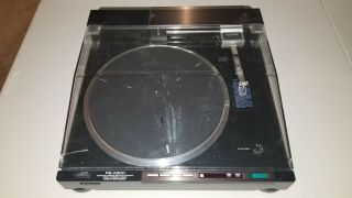 Sony Turntable Ps - X800 Rare Turntable Or Restoration