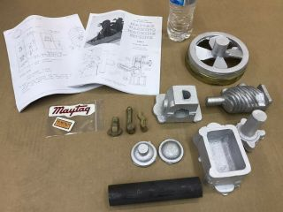 Rare Maytag Upright 1/2 Scale Miniature Gas Engine Casting Motor Model Kit