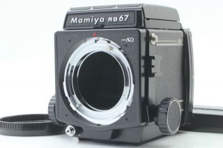 Rare [almost Unused] Mamiya Rb67 Pro Sd Body Medium Camera Waist Finder Japan