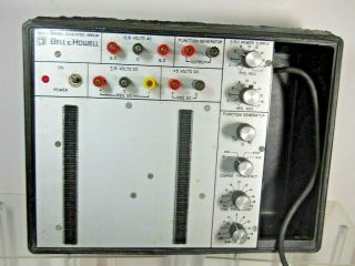 Rare Bell & Howell Education Group Adjustable Power Supply & Function Generator