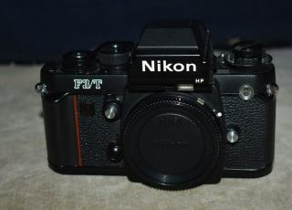 Rare Nikon F3/t Film Camera Body - Black Body -