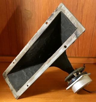 Vintage Western Electric Ks - 14704 Horn Driver And Folded Horn Rare Rare Rare.