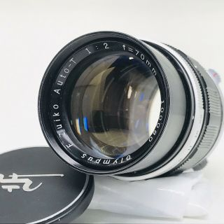 [super Rare :,  ] Olympus F.  Zuiko Auto - T 70mm F/2 Pen F From Japan