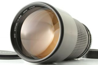 【rare Near Mint】 Minolta Md 200mm F/2.  8 Telephoto Mf Lens From Japan 666