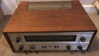 Rare Vintage The Fisher 400 Tube Stereo Receiver And Great