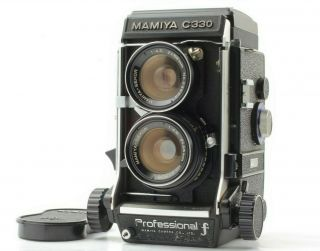 "【rare "" F "" Exc,  5】 Mamiya C330 Pro F,  55mm F4.  5 Lens From Japan"