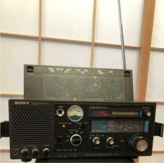 Sony Icf - 6700 Bcl Am / Fm Radio Masterpiece Vintage Rare From Japan Junk