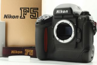 【mint In Box】nikon F5 35mm Slr Film Camera Body W/ Rare Vhs From Japan 238