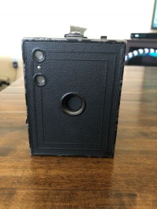 Antique Eastman Kodak Brownie No 2 - Box Camera