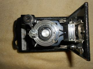 Antique Eastman Kodak No.  1a Autographic Kodak Jr.  Folding Camera