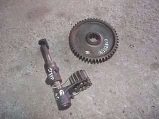 Allis Chalmers G Tractor Ac Low Low Drive Gear & Shifter Shift Fork Rare G