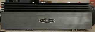 Old School Zapco Reference 750.  2 2 Channel Amplifier,  Rare,  Sq,  Usa,  Vintage