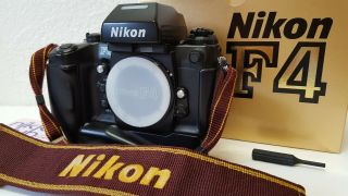 【n Rare Sn 260××××】 Nikon F4 Final Late Model 35mm Slr From Japan