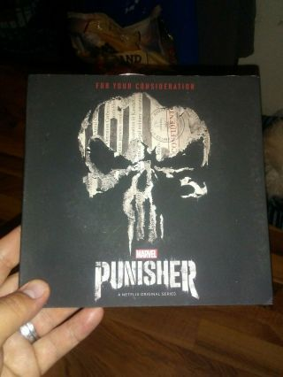 Marvel The Punisher • Netflix Emmy Dvd Fyc 2018 • Rare Collectible Promo