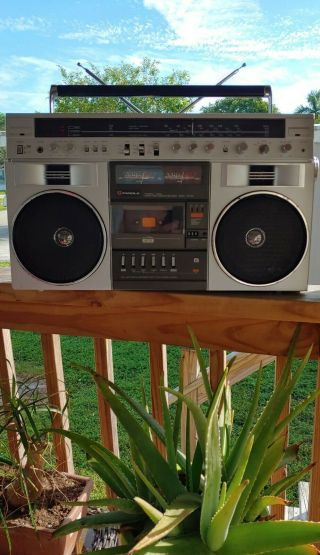 Vintage Helix Candle Jtr - 1287 Boombox Ghetto Blaster.  (& Rare)