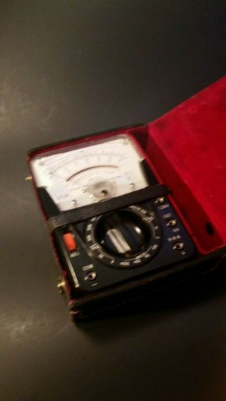 Vintage Micronta Multitester Multimeter - (22 - 022) With Case -