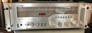 Rotel Rx - 2002 Stereo Monster Receiver Fully Serviced By Tech 90 W/ch Rare 1979