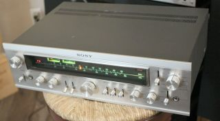 Very Rare Stc - 7000 Sony Integrated Am - Fm Tuner Preamplifier - Wonderful Preamp
