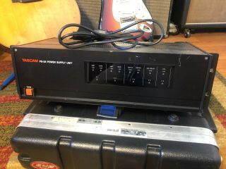 Tascam Ps - 24 Power Supply For Msr - 24 And Msr - 24s Rare