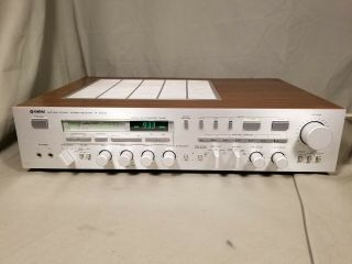 Vintage Yamaha R - 2000 Stereo Receiver / Amplifier 150 - Wpc Rare &