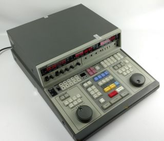 Rare Sony Bve - 600 Video Editing Controller​