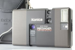 [rare Mint] Konica Recorder Black Half Frame 35mm Film Camera From Japan