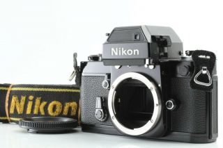 【rare Mint】 Nikon F2 Sb Dp - 3 Photomic Black 35mm Slr Film Camera From Japan