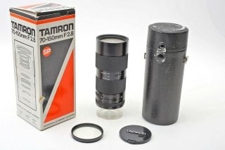 Tamron Sp 70 - 150mm F2.  8 Cf Tele Macro (51a) Adaptall 2 Soft Focus Lens,  Very Rare