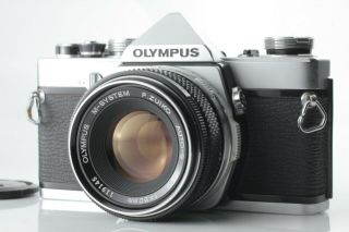 【rare,  】 Olympus M - 1,  M - System F.  Zuiko Auto - S 50mm F1.  8 Lens From Japan
