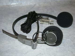 Rare Vintage Sony Mdr - 7 Mdr7 High End Stereo Dynamic Headphone W/ Ear Pads
