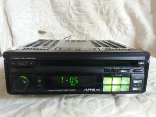 Alpine 7915.  Old School Tuner/cd Player.  Rare.  Ship To Worlwide