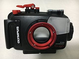 Olympus Pt - 056 Waterproof Case For Digital Camera Stylus Tg - 3&tg - 4tough F/s Rare