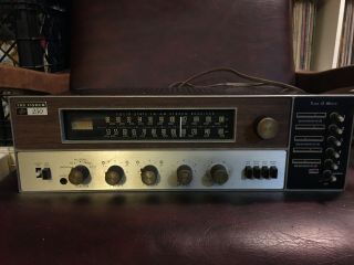 The Fisher 250 - T Receiver Turns On Partial Work Repair Rare Cosmetically