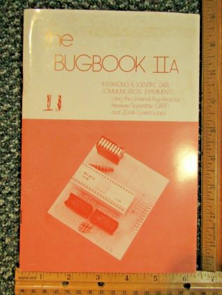The Bugbook Iia Interfacing & Scientific Data Communication Experiments 1975