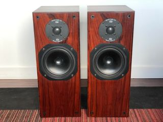 Rare Monitor Audio R652 Speakers In Real Rosewood