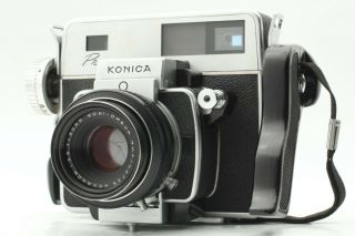 【rare Exc,  】konica Press W/ Koni - Omega 90mm F/3.  5 Lens From Japan 520a