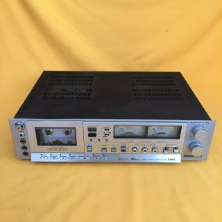 Rare Aiwa Ad - 6900 Mrk 2 3 Head Stereo Cassette Deck (powers Up)