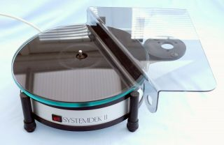 Dunlop Systemdek 11 Turntable Fitted With Rare Hinged Dust Cover