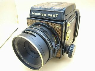 Rare Mamiya Rb67 Pro S Golden Lizard Limited,  127mm F3.  8 Lens Limited 300 Unit